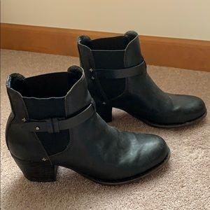 Leather Rag & Bone Black Booties size 9.5